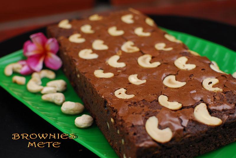 Resep Kue Brownies Coklat Kacang Mete Kacang Mete Goreng Murah